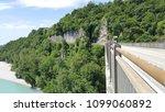 the tagliamento river  view... | Shutterstock . vector #1099060892