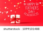 father's day message with... | Shutterstock . vector #1099101488