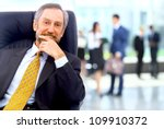 successful business man... | Shutterstock . vector #109910372