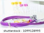 closeup of the desk of a... | Shutterstock . vector #1099128995