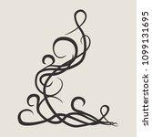 stylish geometric pattern.... | Shutterstock .eps vector #1099131695