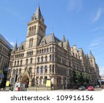 Manchester Town Hall  Uk