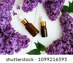 essential oil with lilac... | Shutterstock . vector #1099216595