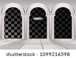 White Architectural Arches ...