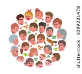 society people illustration  | Shutterstock .eps vector #1099231478