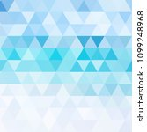 blue vector blurry triangle... | Shutterstock .eps vector #1099248968
