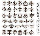 vintage design elements... | Shutterstock .eps vector #1099251548