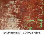 rusty and grungy metal iron...   Shutterstock . vector #1099257896