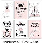 little princess  posters for... | Shutterstock .eps vector #1099260605