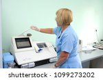 at a hospital laboratory. lab... | Shutterstock . vector #1099273202