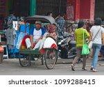 yogyakarta   august 03 ...   Shutterstock . vector #1099288415