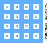 animals icons set. dove  pigeon ... | Shutterstock .eps vector #1099291292