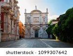 beautiful san rocco church in... | Shutterstock . vector #1099307642