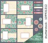 retro frames and design... | Shutterstock .eps vector #109931312