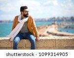 close shot of a handsome man... | Shutterstock . vector #1099314905