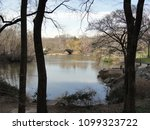 pond at central park in new... | Shutterstock . vector #1099323722