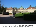 buchlovice castle with garden ... | Shutterstock . vector #1099330376