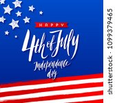 4th of july  independence day   ... | Shutterstock .eps vector #1099379465