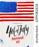 4th of july  independence day   ... | Shutterstock .eps vector #1099382828