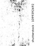 grunge black and white pattern. ... | Shutterstock . vector #1099392692