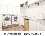 big laundry room | Shutterstock . vector #1099402535