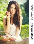 Apple Woman. Very Beautiful...