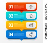 infographic design template.... | Shutterstock .eps vector #1099435592