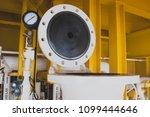 open vessel cylinder instrument ... | Shutterstock . vector #1099444646