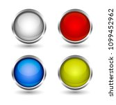 web buttons colorful design set | Shutterstock .eps vector #1099452962