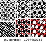 geometric abstract seamless... | Shutterstock .eps vector #1099460168