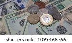 dollar uk pound | Shutterstock . vector #1099468766