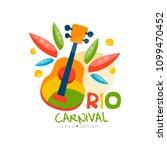 rio carnival logo design ... | Shutterstock .eps vector #1099470452