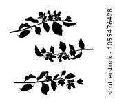 vector silhouette of the... | Shutterstock .eps vector #1099476428
