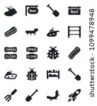 set of vector isolated black...   Shutterstock .eps vector #1099478948