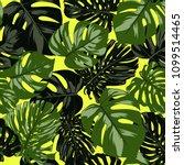 seamless tropical pattern.... | Shutterstock .eps vector #1099514465