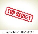 top secret | Shutterstock .eps vector #109952258