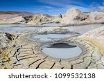 geysirs at the altiplano ... | Shutterstock . vector #1099532138