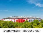moscow  russia   may 11  2018 ... | Shutterstock . vector #1099559732