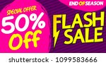 flash sale  50  off  special...   Shutterstock .eps vector #1099583666