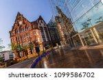 dortmund historic city hall... | Shutterstock . vector #1099586702