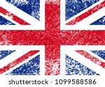 vintage union jack  great...   Shutterstock .eps vector #1099588586