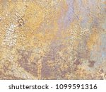 abstract corroded colorful... | Shutterstock . vector #1099591316