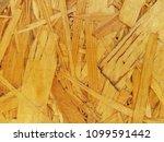 wooden pressed shavings natural ... | Shutterstock . vector #1099591442