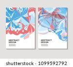 the abstract colorful... | Shutterstock .eps vector #1099592792