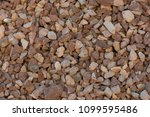 crushed stone for construction | Shutterstock . vector #1099595486