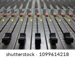 professional sound control panel | Shutterstock . vector #1099614218