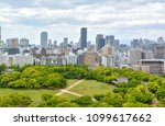 cityscape from the top view of... | Shutterstock . vector #1099617662