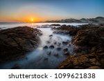"""las tortolas"" beach at atacama ... | Shutterstock . vector #1099621838"