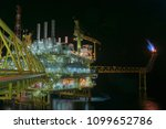 oil and gas offshore platform... | Shutterstock . vector #1099652786