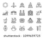 taiwan icon set. included the... | Shutterstock .eps vector #1099659725